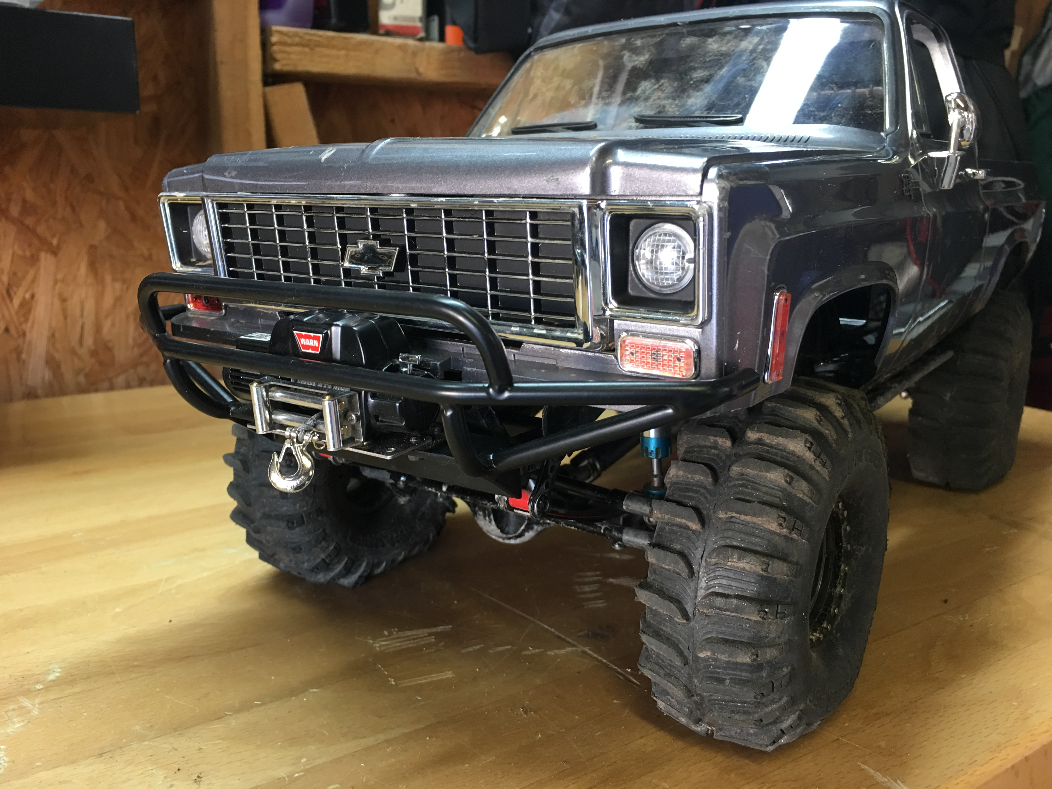 How To Adapt Tough Armor Winch Bumper To The Rc4wd Chevy Blazer Body Set